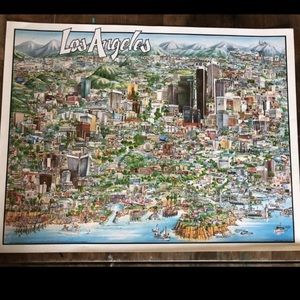 Los Angeles Lithograph